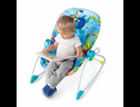 האופנה האופנתית טרמפולינה רוקר טוקאן/הרפתקאות באוקיאנוס - בייבי סתיו מוצרי תינוקות GO-64